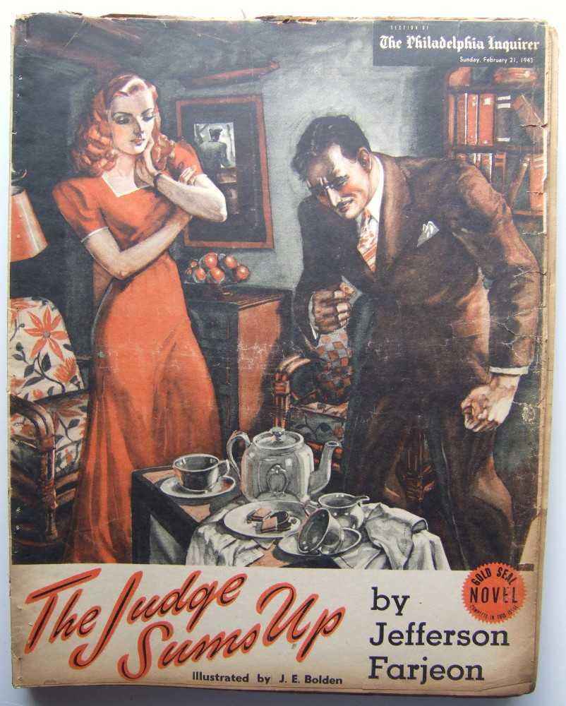 Image for The Judge Sums Up (Gold Seal Novel, presented by the Philadelphia Inquirer, Sunday, February 21, 1943)