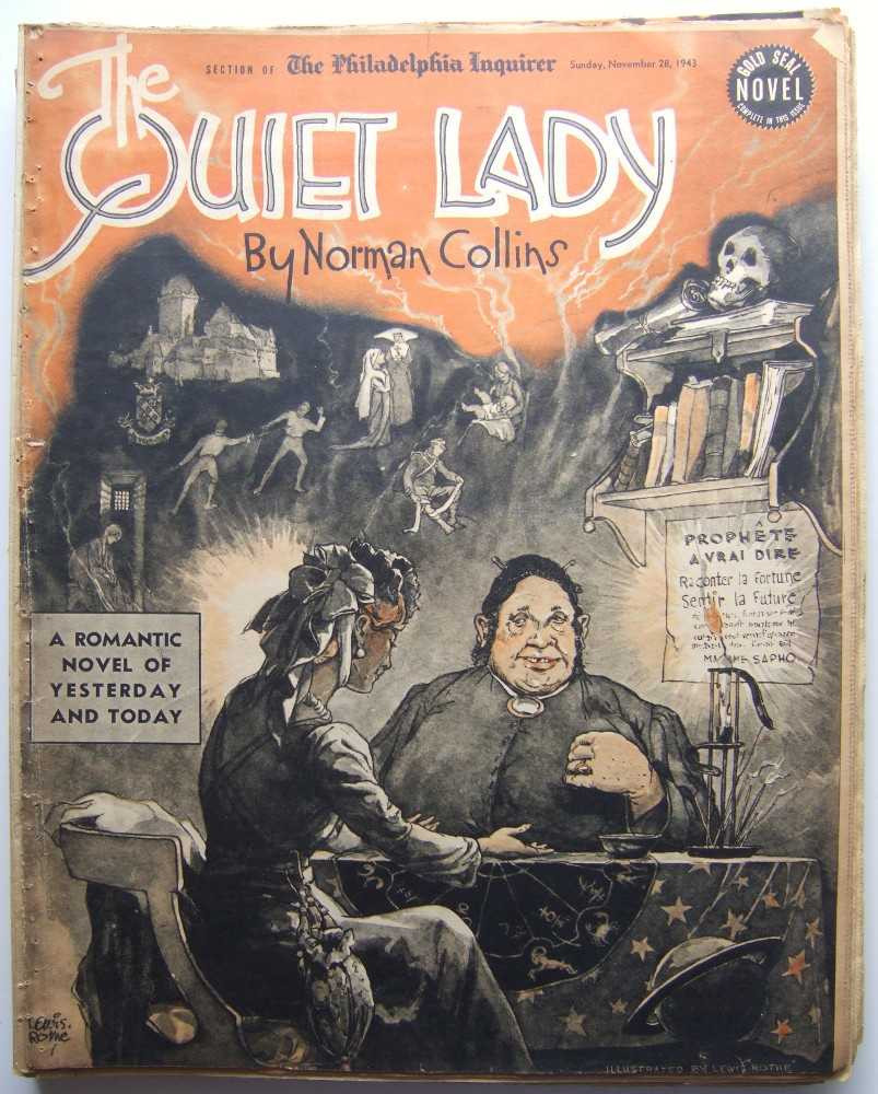 Image for The Quiet Lady (Gold Seal Novel, presented by the Philadelphia Inquirer, Sunday, November 28, 1943)