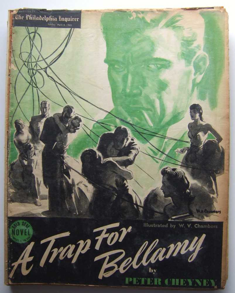 Image for A Trap for Bellamy (Gold Seal Novel, presented by the Philadelphia Inquirer, Sunday, April 4, 1943)