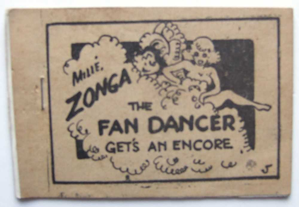 Image for Millé Zonga The Fan Dancer Gets an Encore (Tijuana Bible, 8-Pager)