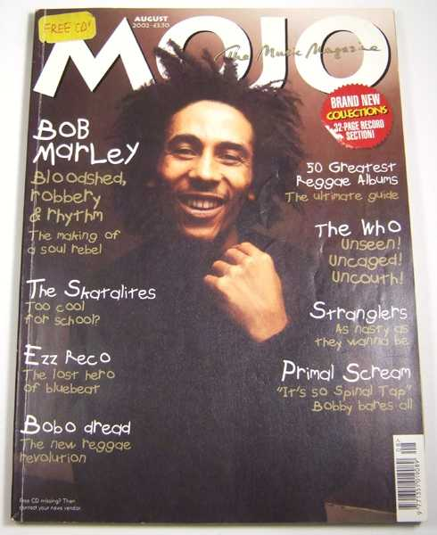 Image for Mojo Music Magazine #105 (August, 2002)