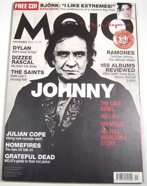 Image for Mojo Music Magazine #132 (November, 2004)