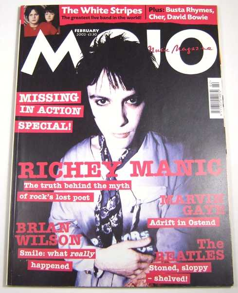 Image for Mojo Music Magazine #99 (February, 2002)