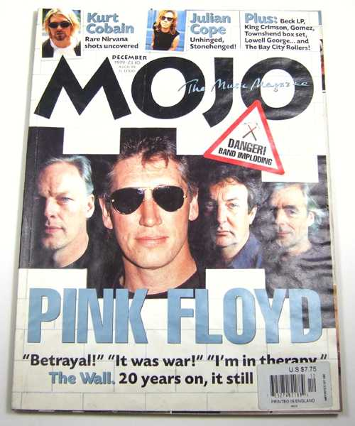 Image for Mojo Music Magazine #73 (December, 1999)