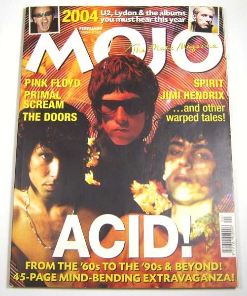 Image for Mojo Music Magazine #123 (February, 2004)
