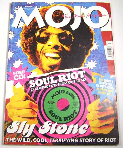 Image for Mojo Music Magazine #93 (August, 2001)
