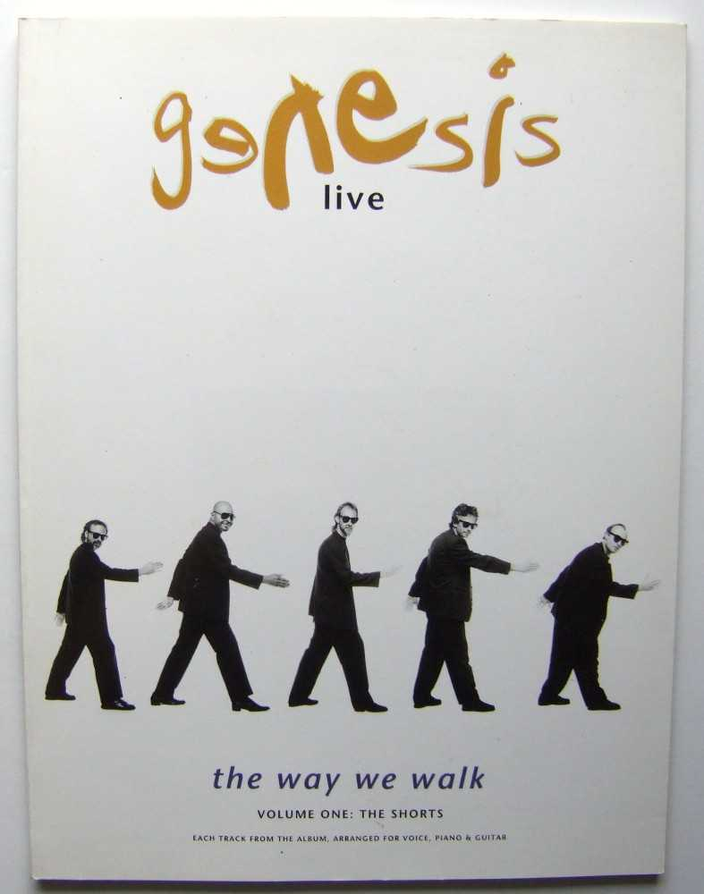 Image for Genesis: Live: The Way We Walk: Volume One: The Shorts [Songbook]