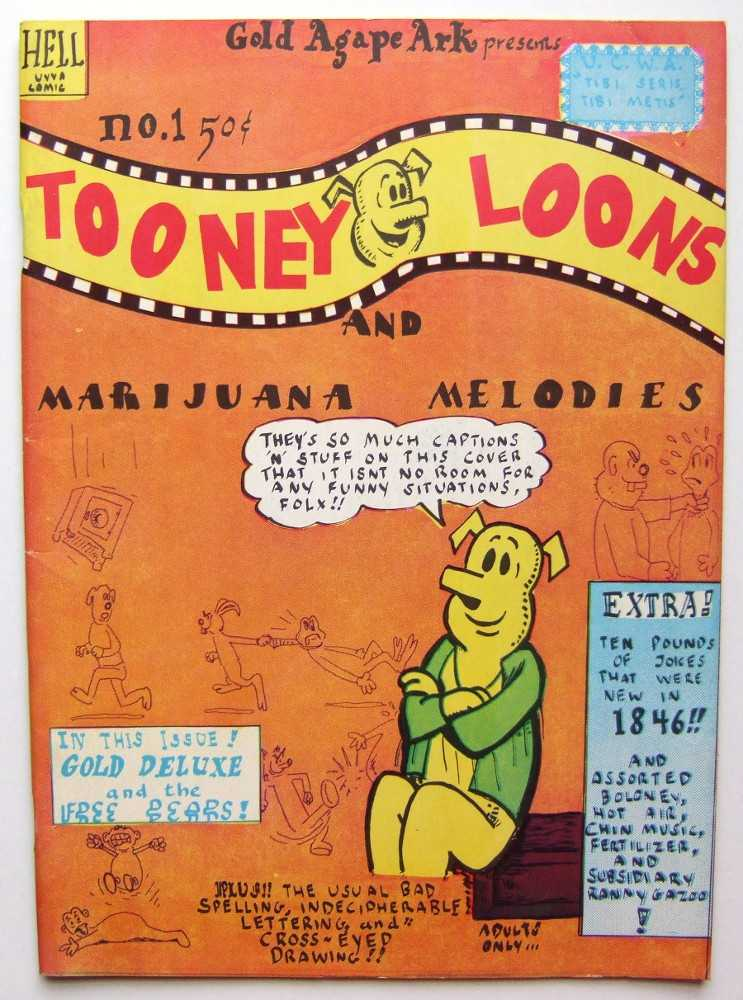 Image for Tooney Lunes and Marijuana Melodies #1