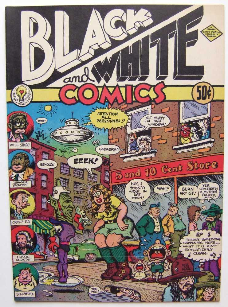 Image for Black and White Comics