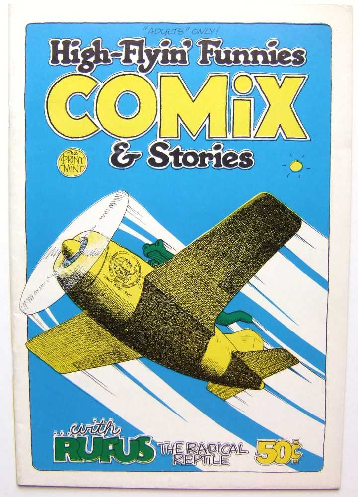 Image for High-Flyin' Funnies Comix & Stories