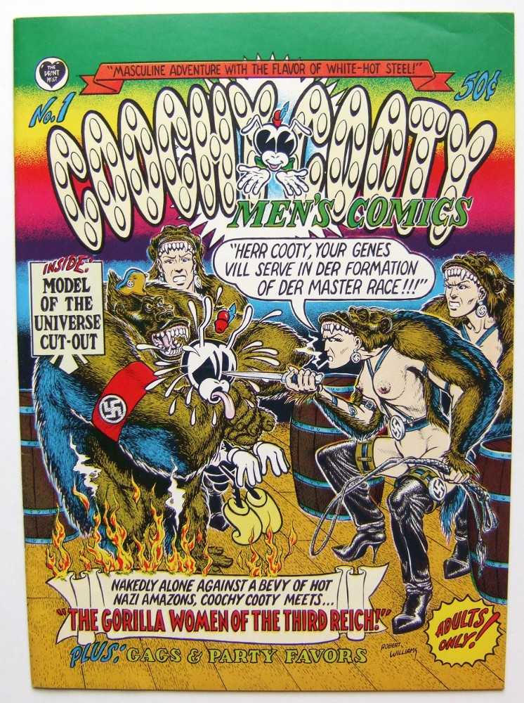 Image for Coochy Cooty Men's Comics #1