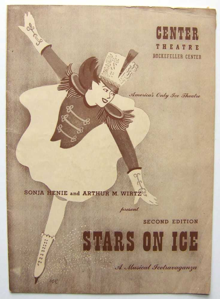 Image for Second Edition, Stars on Ice with Sonja Henie: Center Theatre, Rockefeller Center, 1943