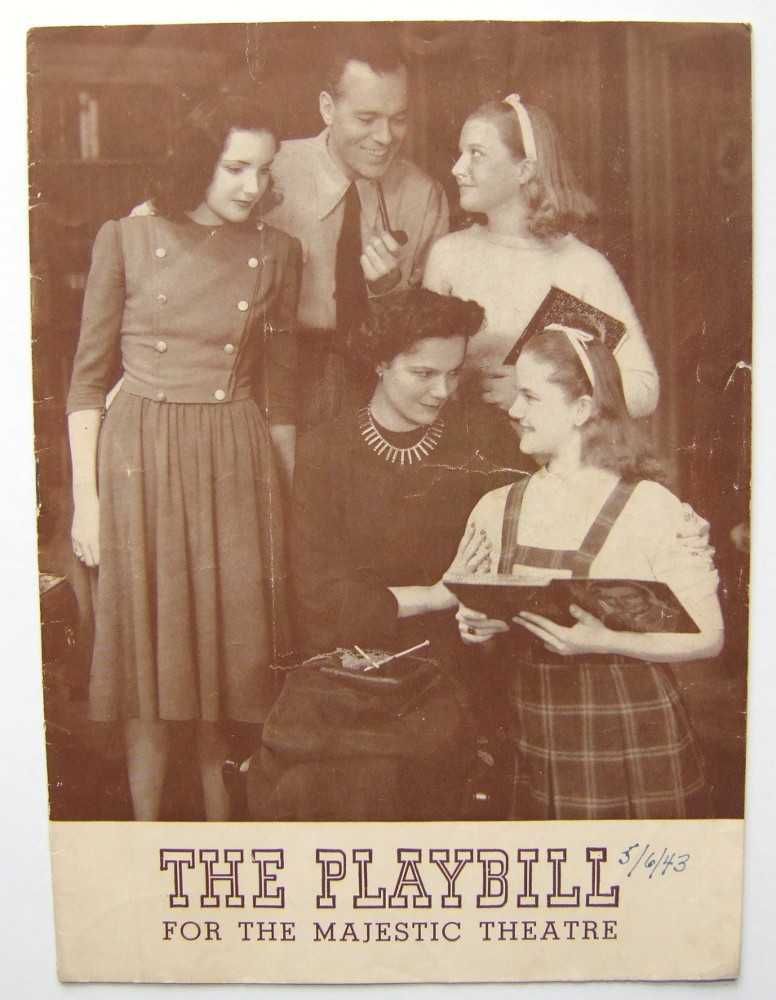 Image for Junior Miss: Playbill for the Majestic Theatre, 1943