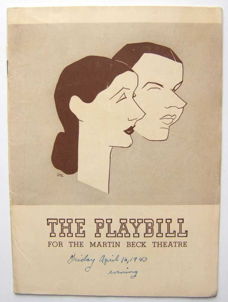 Image for The Pirate: Playbill for the Martin Beck Theatre, 1943