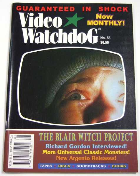 Image for Video Watchdog #55 (January, 2000)