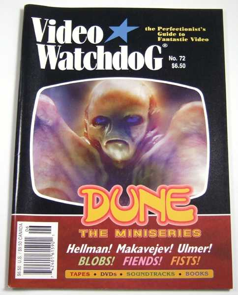 Image for Video Watchdog #72 (June, 2001)