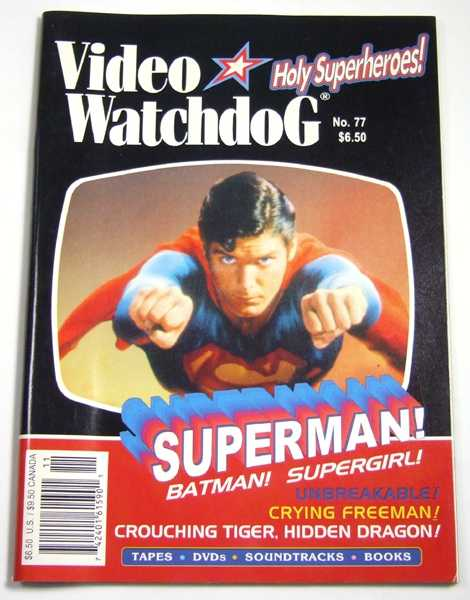 Image for Video Watchdog #77 (November, 2001)