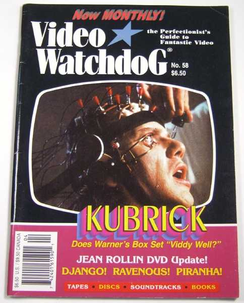 Image for Video Watchdog #58 (April, 2000)