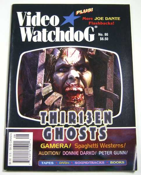 Image for Video Watchdog #86 (August, 2002)