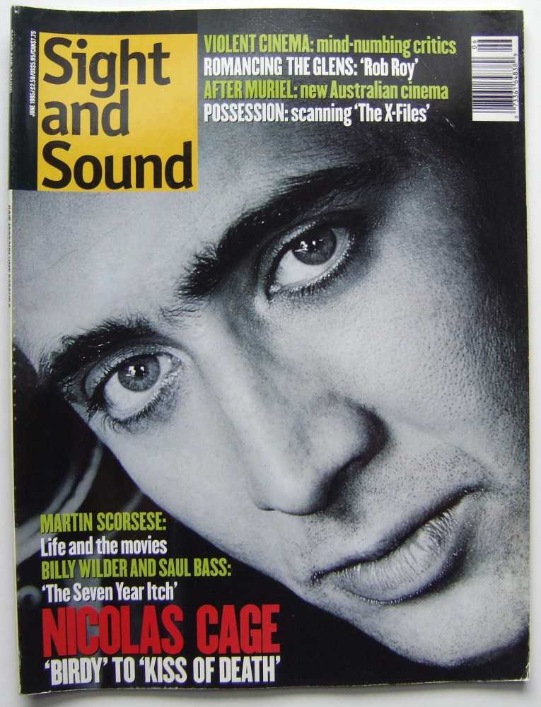 Image for Sight and Sound (June, 1995, Volume 5, #6)