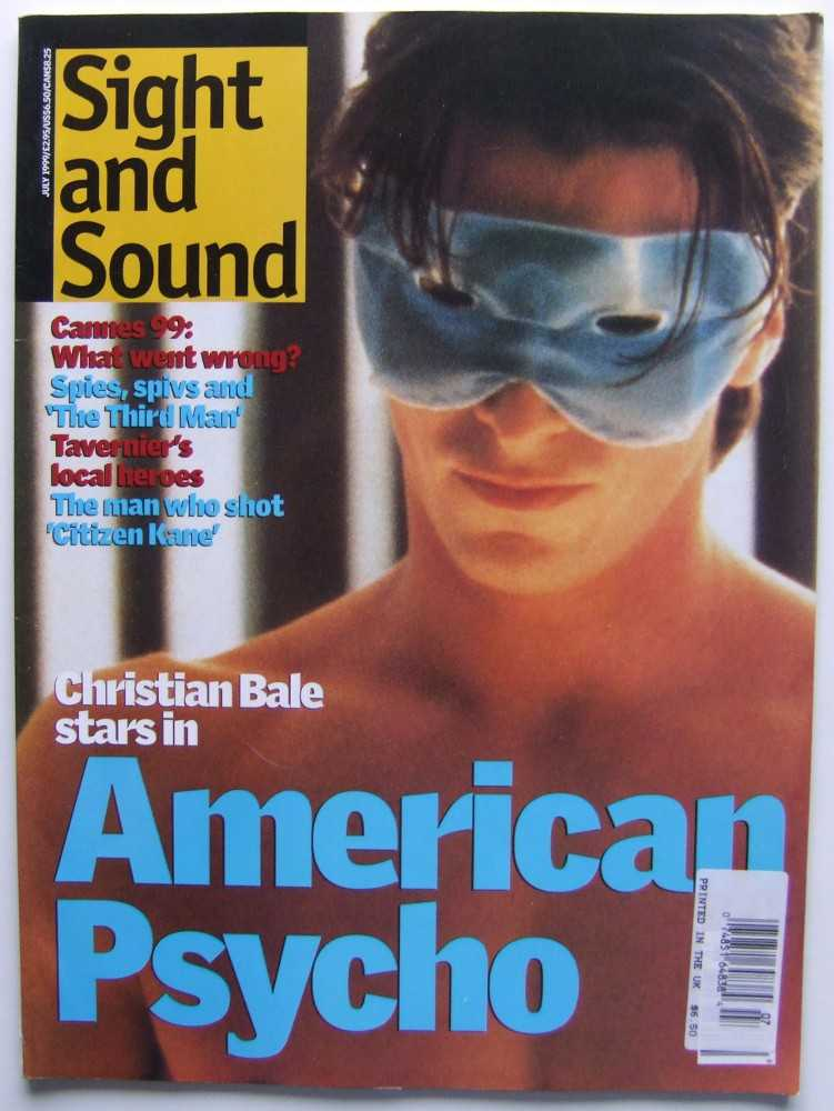 Image for Sight and Sound (July, 1999, Volume 9, #7)