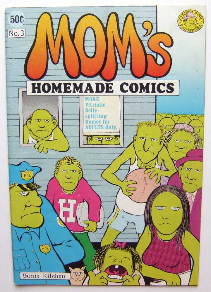 Image for Mom's Homemade Comics #3
