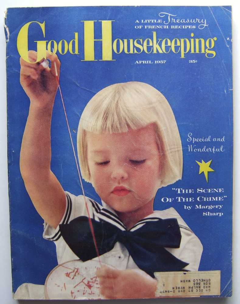 Image for Good Housekeeping (April, 1957, featuring pre-publication excerpt from The Lonely Doll by Dare Wright)