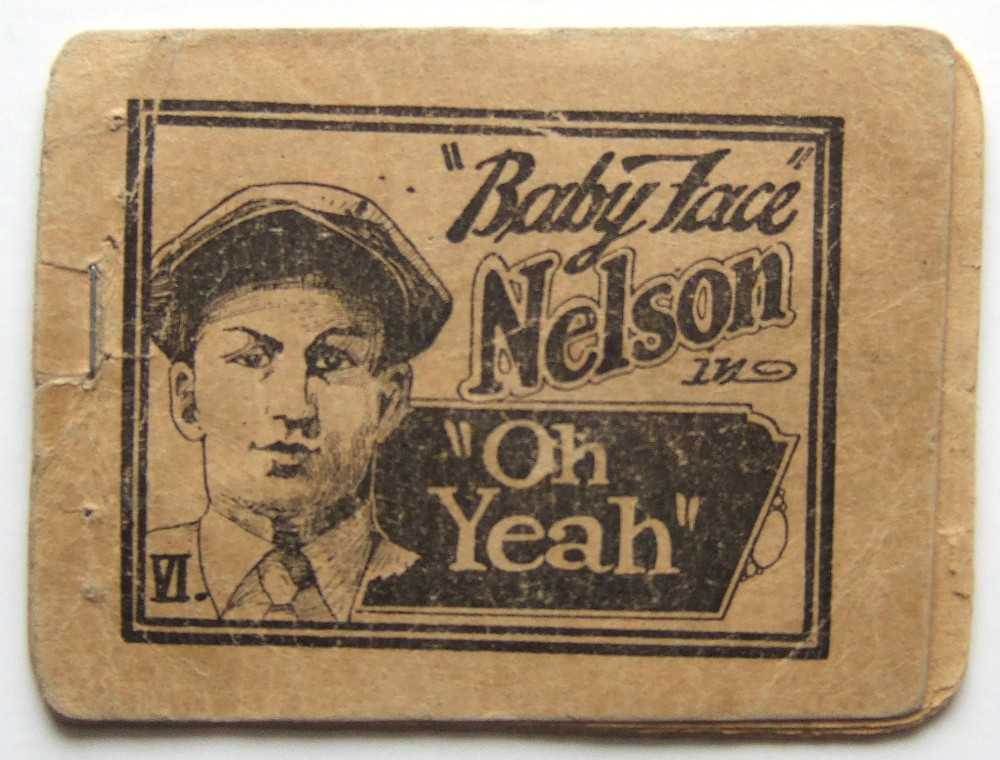 "Image for ""Baby Face"" Nelson in ""Oh Yeah"" VI (Tijuana Bible)"