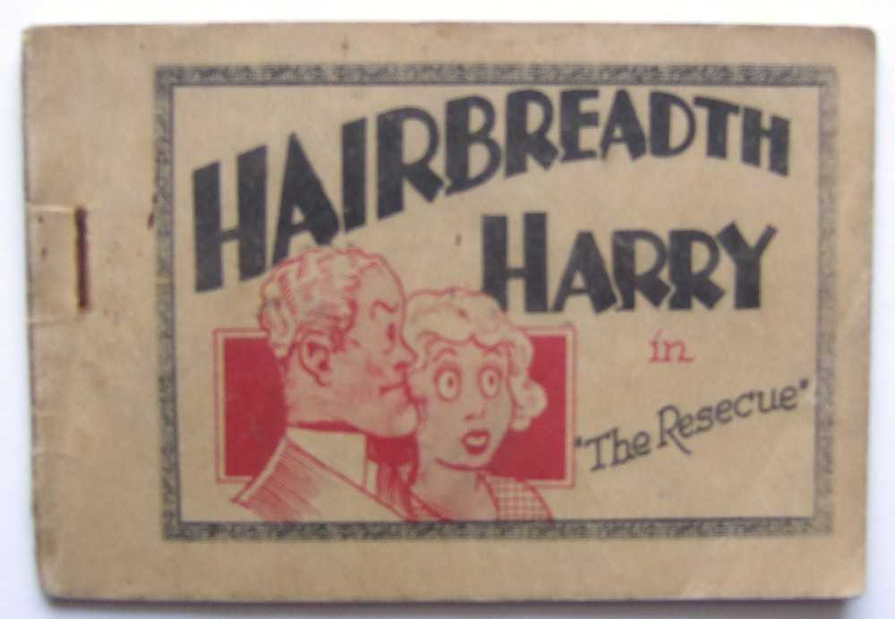 "Image for Hairbreadth Harry in ""The Rescue"" (Tijuana Bible)"