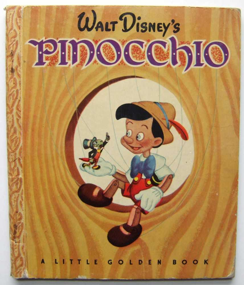 Image for Walt Disney's Pinocchio (A Little Golden Book)