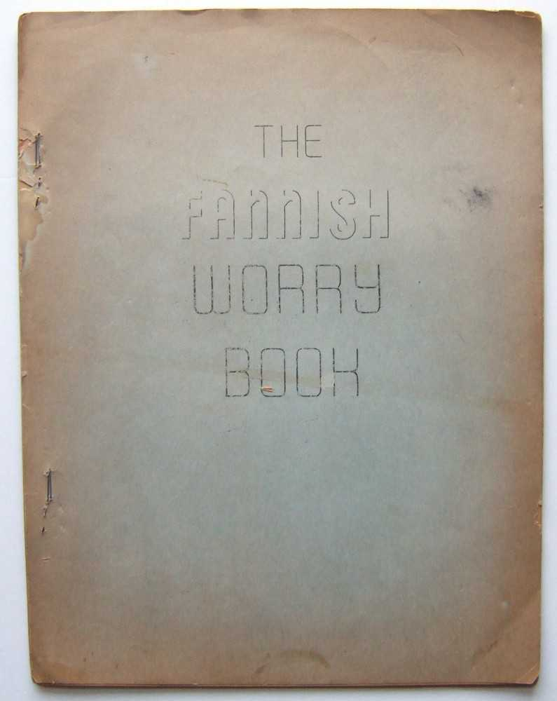Image for The Fannish Worry Book (Mimeo 'zine, February, 1969)