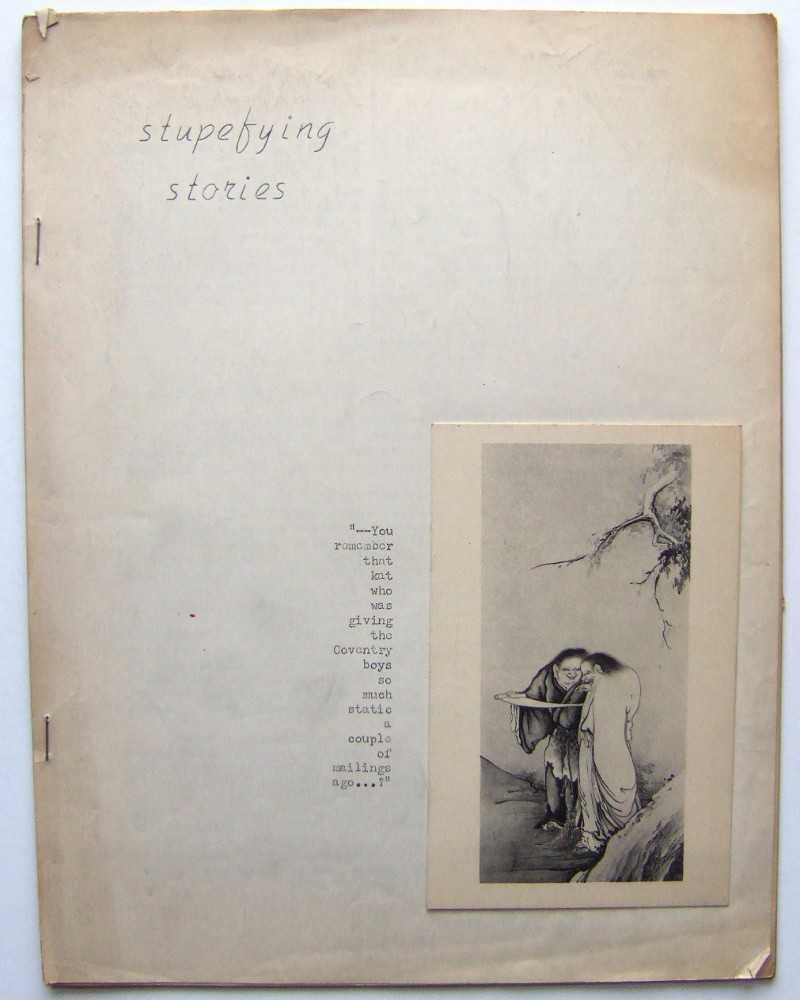 Image for Stupefying Stories (Mimeo 'zine, Vol. 8, No. 3)