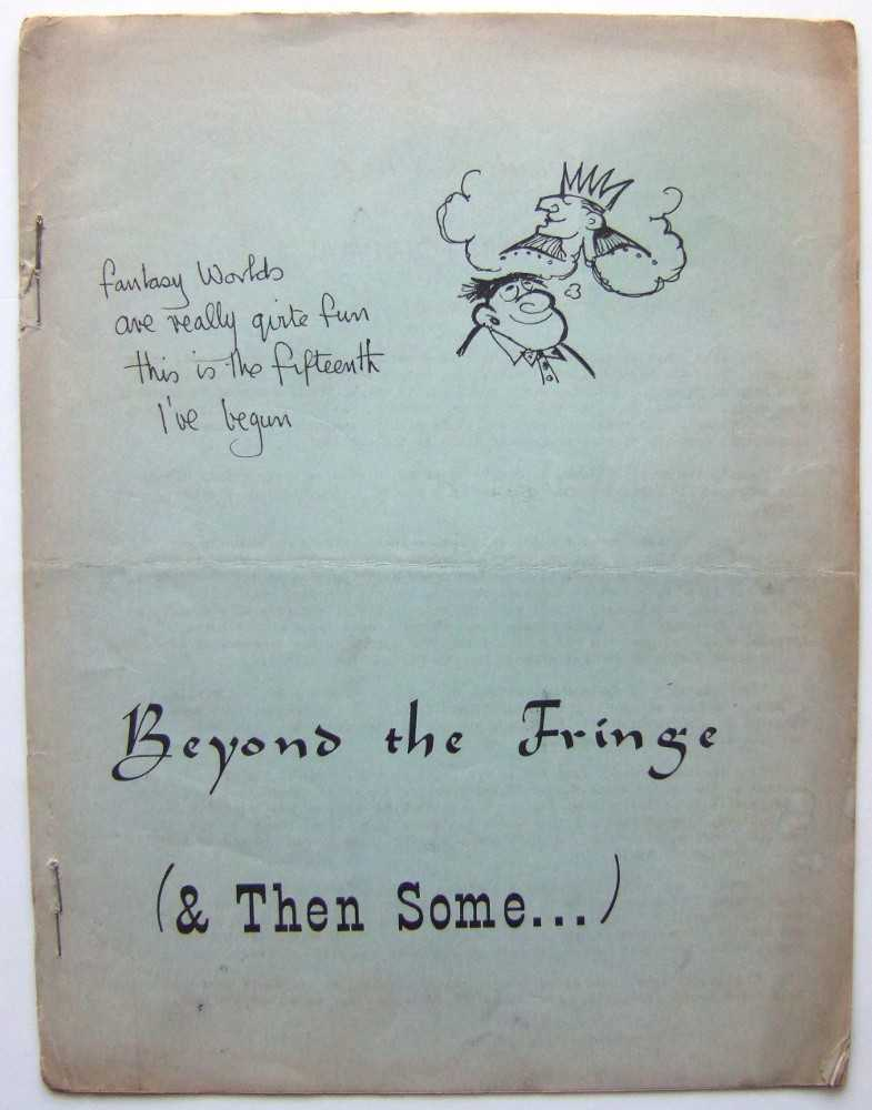 Image for Beyond the Fringe & Then Some (Mimeo 'zine)