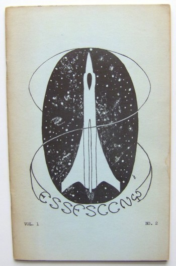 Image for ESSFSCCNY (Evening Session Science Fiction Society of the City College of the City University of New York ('zine, Fall, 1962. Vol. 1, No. 2)