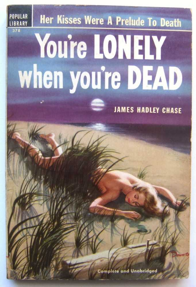 Image for You're Lonely When You're Dead