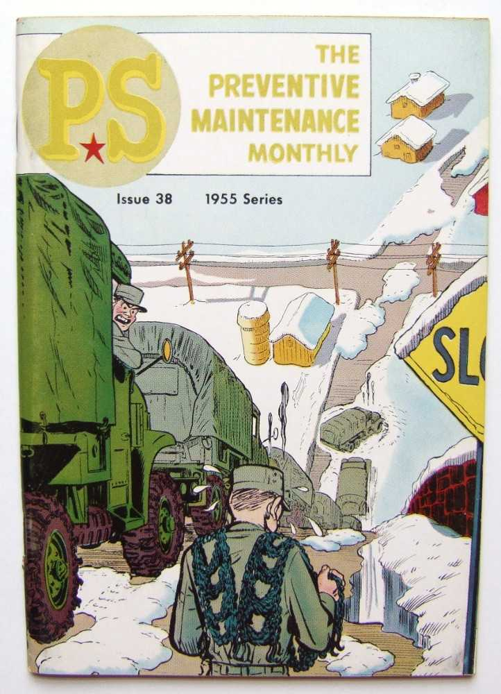 Image for PS: The Preventive Maintenance Monthly, 1955 Series, Issue #38