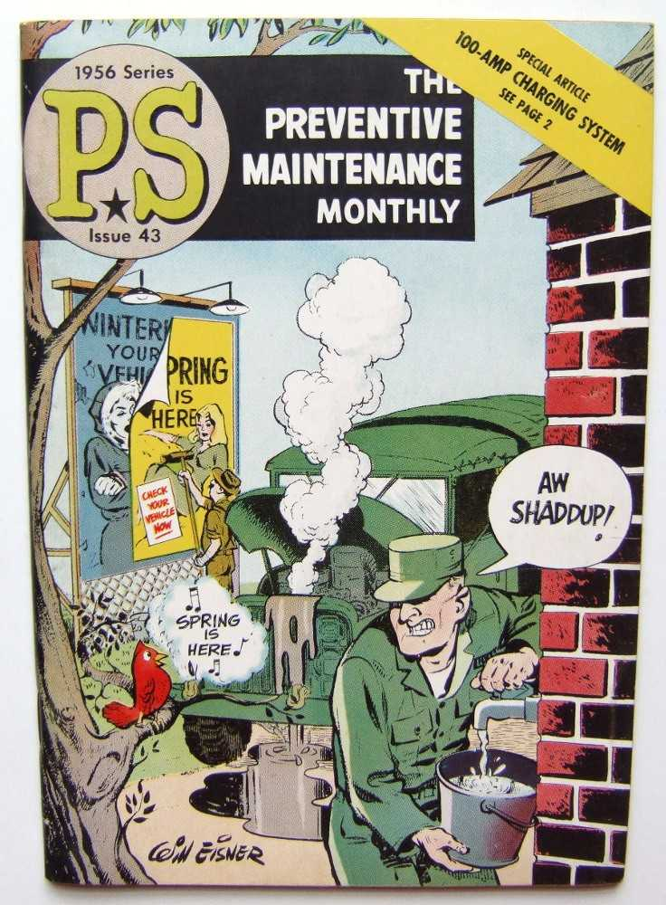 Image for PS: The Preventive Maintenance Monthly, 1956 Series, Issue #43