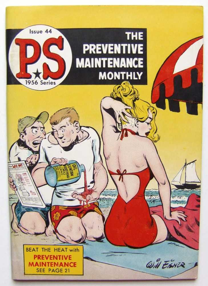 Image for PS: The Preventive Maintenance Monthly, 1956 Series, Issue #44