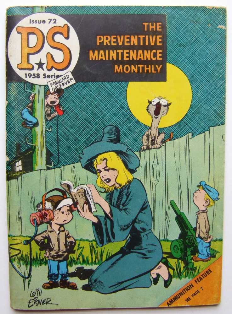 Image for PS: The Preventive Maintenance Monthly, 1958 Series, Issue #72