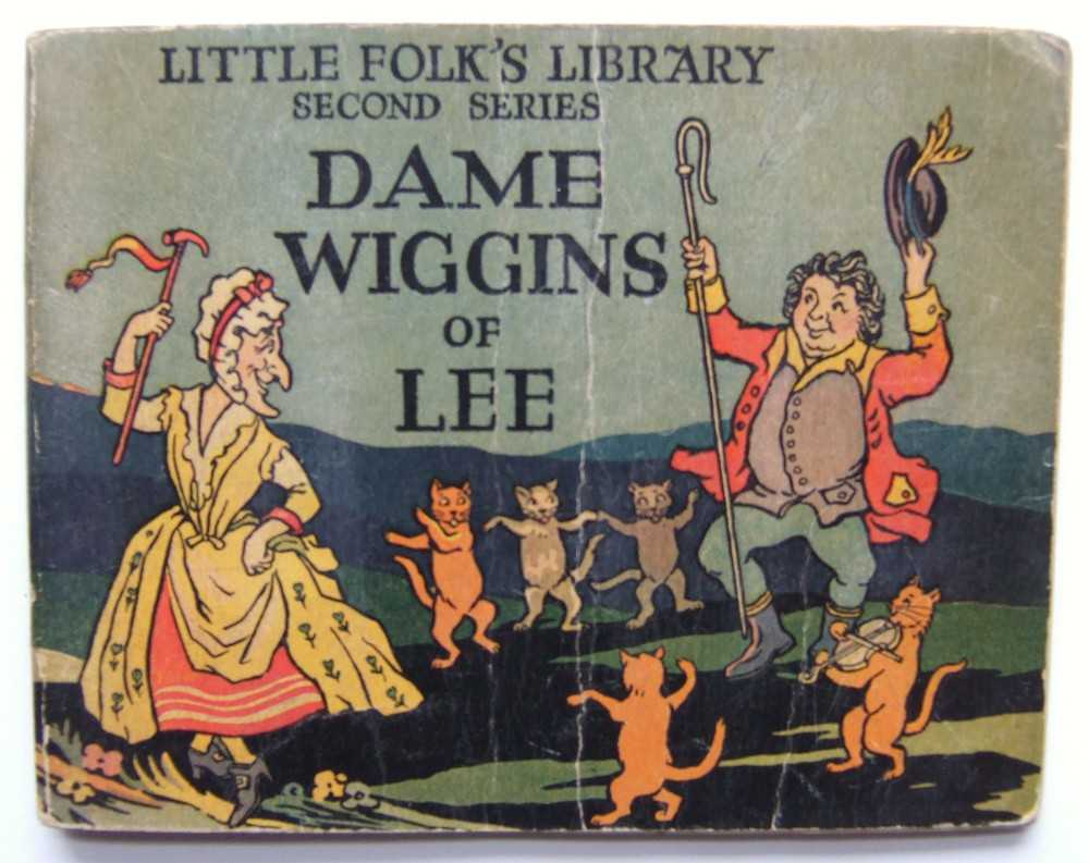 Image for Dame Wiggins of Lee and Old Mother Hubbard (Little Folk's Library)