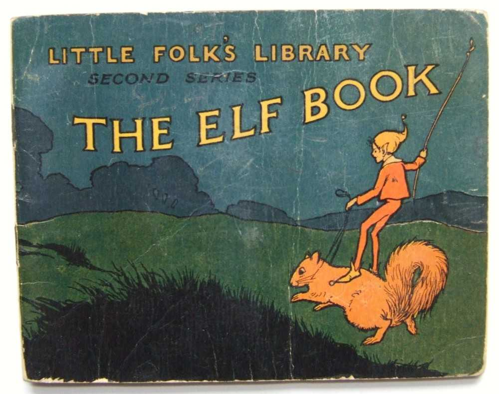 Image for The Elf Book (Little Folk's Library)