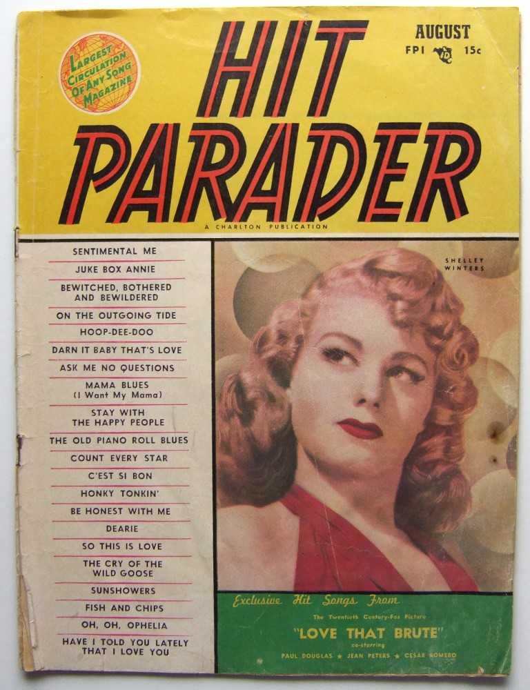 Image for Hit Parader (August, 1950)