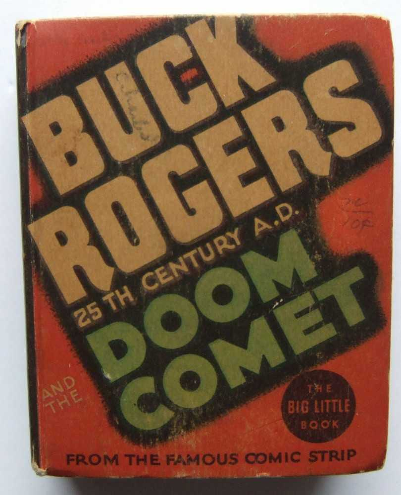 Image for Buck Rogers, 25th Century A.D. and the Doom Comet (Whitman Big Little Book 1179)