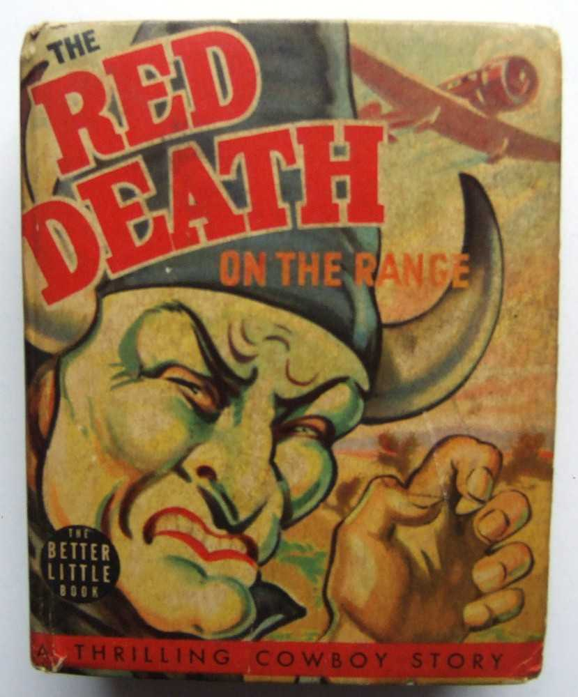 Image for The Red Death on the Range: A Bronc Peeler Western (Whitman Better Little Book 1449)