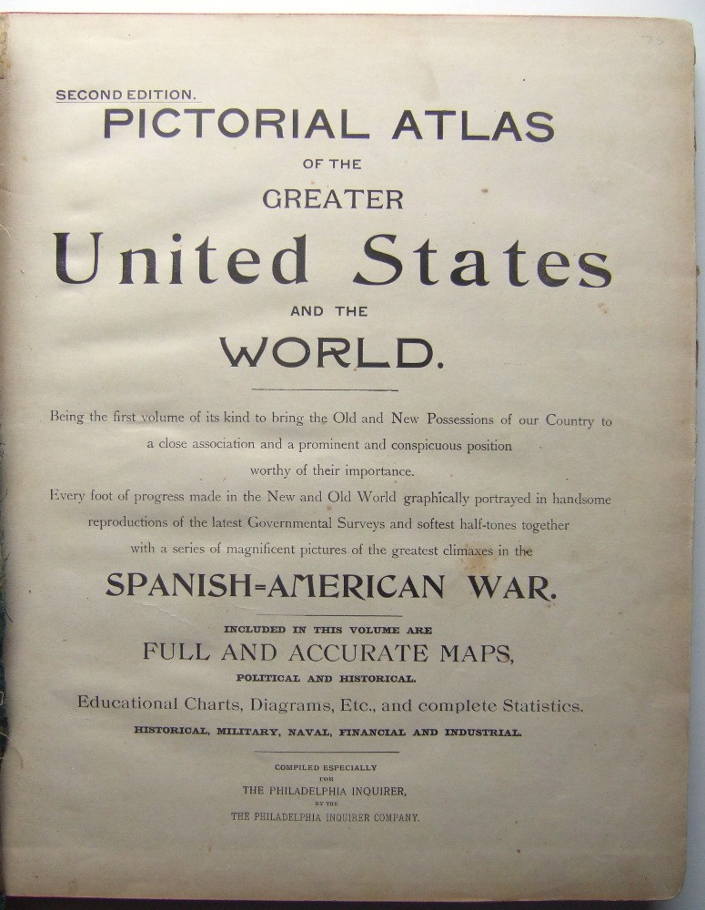 Image for Pictorial Atlas of the Greater United States and the World