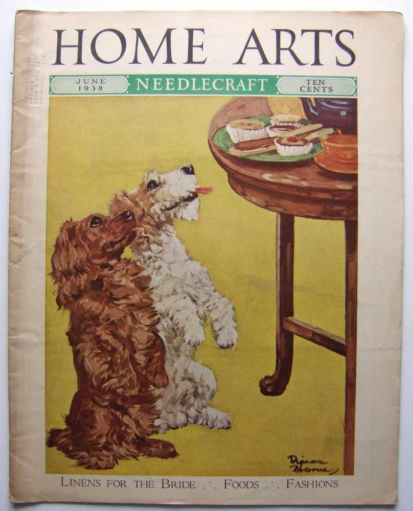 Image for Home Arts - Needlecraft (June, 1938, Volume XXIX, No. 10) [Dog, terrier cover]