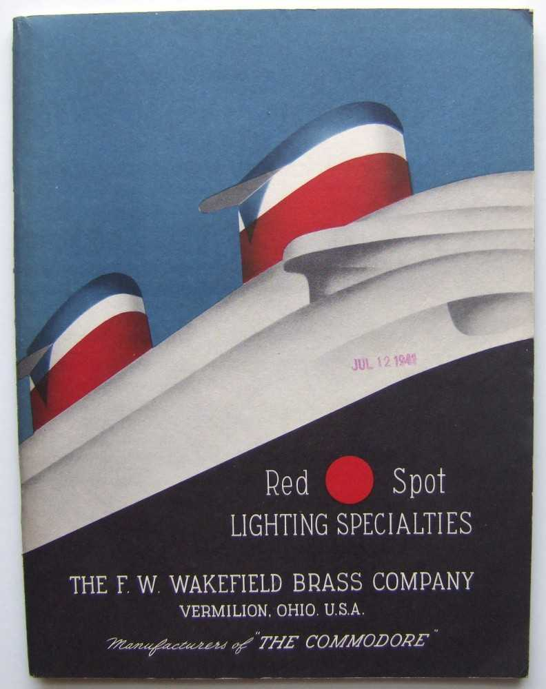 Image for Red Spot Lighting Specialties, The F.W. Wakefield Brass Company, Catalog No. 41