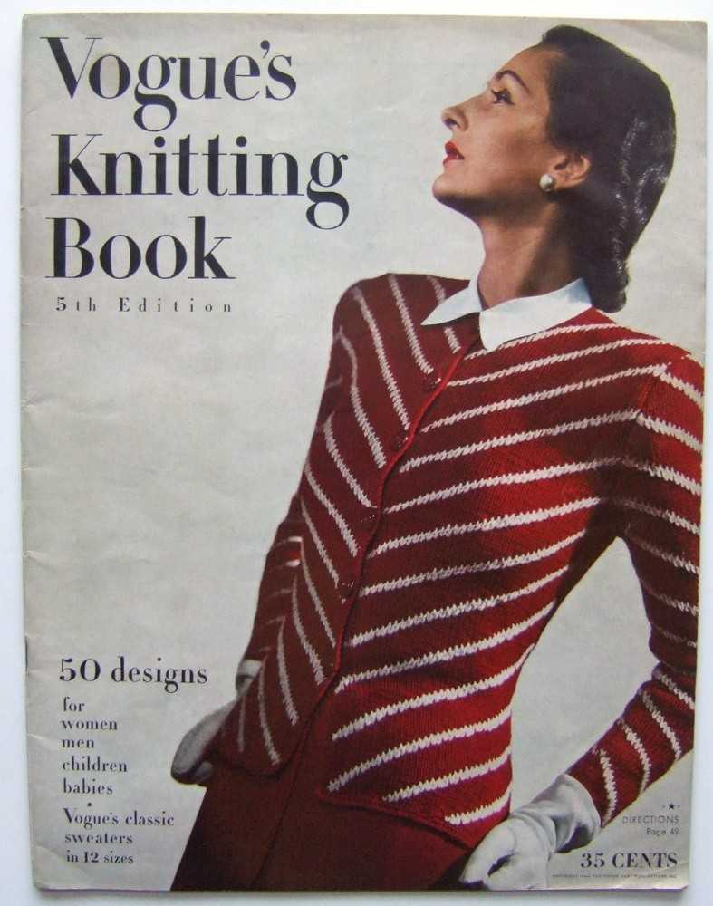 Image for Vogue's Knitting Book, 5th Edition (1944)