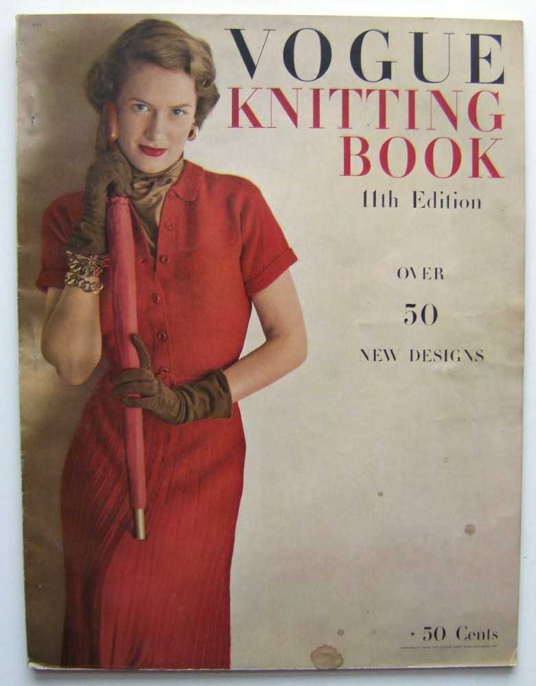 Image for Vogue's Knitting Book, 11th Edition (1948)