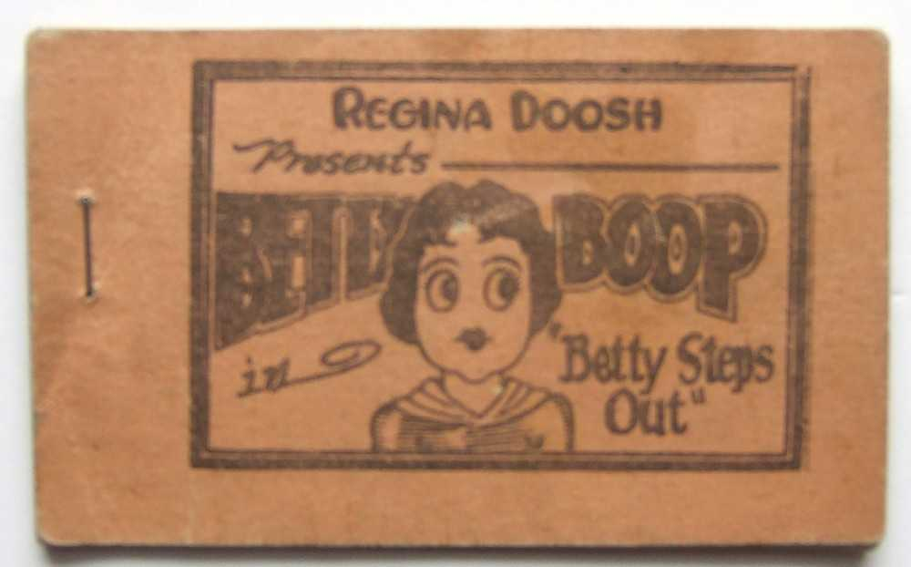"Image for Betty Boop in ""Betty Steps Out"" (Tijuana Bible)"
